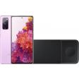 Samsung Galaxy S20 FE 128GB Paars 4G + Samsung Trio Draadloze Oplader 9W Zwart