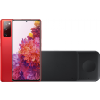 Samsung Galaxy S20 FE 128GB Rood 4G + Samsung Trio Draadloze Oplader 9W Zwart