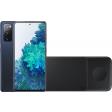 Samsung Galaxy S20 FE 256GB Blauw 4G + Samsung Trio Draadloze Oplader 9W Zwart