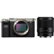 Sony A7C Zilver + FE 35mm f/1.8