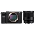 Sony A7C Zwart + FE 35mm f/1.8