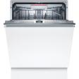 Bosch SMH4HCX48E / Inbouw / Volledig geintegreerd / Nishoogte 81,5 - 87,5 cm
