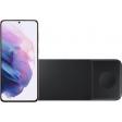 Samsung Galaxy S21 Plus 128GB Paars 5G + Samsung Trio Draadloze Oplader 9W Zwart