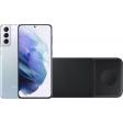 Samsung Galaxy S21 Plus 256GB Zilver 5G + Samsung Trio Draadloze Oplader 9W Zwart