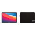 Apple MacBook Air (2020) MGN93N/A Zilver + Case Logic Reflect sleeve