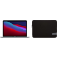 "Apple MacBook Pro 13"" (2020) MYD92N/A Space Gray + Case Logic Reflect sleeve"