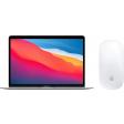 Apple MacBook Air (2020) MGN93N/A Zilver + Apple Magic Mouse 2