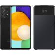 Samsung Galaxy A52 128GB Zwart 5G + Samsung Smart S View Wallet Cover Zwart