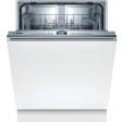 Bosch SMV4HTX31E / Inbouw / Volledig geïntegreerd / Nishoogte 81,5 - 87,5 cm