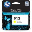 HP 912 cartridge Yellow Inkt Geel