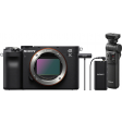 Sony A7C Body Zwart + GP-VPT2BT Grip + ECM-W2BT Microfoon