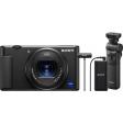 Sony ZV-1 Vlog + GP-VPT2BT Grip + ECM-W2BT Microfoon