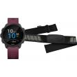 Garmin Forerunner 245 Merlot + Garmin HRM-DUAL Hartslagmeter Borstband Zwart