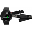 Garmin Forerunner 45S Zwart + Garmin HRM-DUAL Hartslagmeter Borstband Zwart