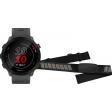Garmin Forerunner 55 Grijs + Garmin HRM-DUAL Hartslagmeter Borstband Zwart