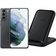 Samsung Galaxy S21 256GB Grijs 5G + Samsung Wireless Charger