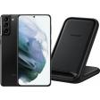 Samsung Galaxy S21 Plus 128GB Zwart 5G + Samsung Wireless Charger Stand 15W Zwart