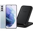 Samsung Galaxy S21 Plus 256GB Zwart 5G + Samsung Wireless Charger Stand 15W Zwart