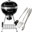 Napoleon Grills Pro Charcoal Leg + BBQ gereedschapset