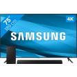 Samsung Crystal UHD 75AU7100 (2021) + Soundbar