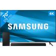 Samsung Crystal UHD 70AU7100 (2021) + Soundbar