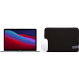 """Apple MacBook Pro 13"""" (2020) 16GB/512GB Apple M1 Space Gray + Muis + Laptophoes"""