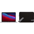 """Apple MacBook Pro 13"""" (2020) MYD82N/A Space Gray + Docking Station + Laptophoes"""