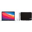 Apple MacBook Air (2020) MGN93N/A Zilver + Accessoirepakket Plus