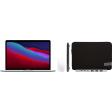 """Apple MacBook Pro 13"""" (2020) 16GB/256GB Apple M1 Zilver + Accessoirepakket Plus"""