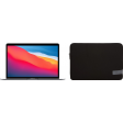 Apple MacBook Air (2020) 16GB/512GB Apple M1 Space Gray + Case Logic Reflect Sleeve