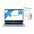 Acer Chromebook 314 CB314-1HT-C6XM + Microsoft 365 Personal NL Abonnement 1 jaar