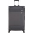 American Tourister Heat Wave Spinner 80cm Charcoal Grey