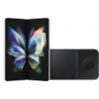 Samsung Galaxy Z Fold 3 512GB Zilver 5G + Samsung Draadloze Oplader DUO Pad 9W Zwart