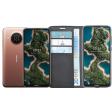Nokia X20 128GB Crème + Azuri Wallet Nokia X20 / X10 Book Ca