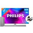 Philips 50PUS8506 - Ambilight (2021) + Soundbar + Hdmi kabel