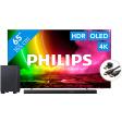 Philips 65OLED806 - Ambilight (2021) + Soundbar + Hdmi kabel