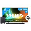 Philips 65OLED706 - Ambilight (2021) + Soundbar + Hdmi kabel