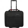 """Delsey Parvis Plus Boardcase Trolley 17,3"""" Zwart"""